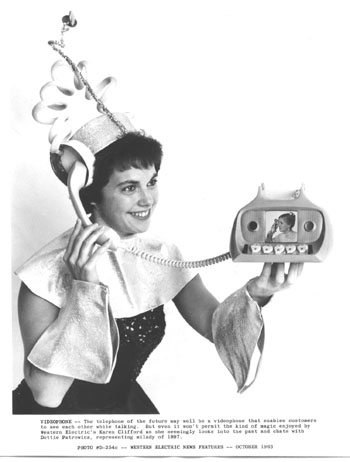 Western Electric 1963 videophone concept