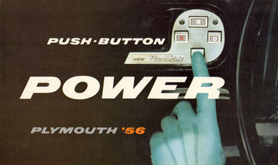Push Button Transmission Plymouth Push-button Power Plymouth '